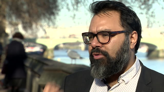 Dr Shiraz Maher of the King's College Centre for Study of Radicalisation saying women who fled the UK to join IS helped to build a 'criticial mass'