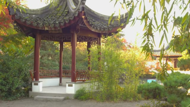 dr. sun yat-sen classical chinese garden - classical chinese garden stock videos & royalty-free footage