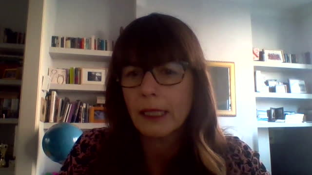"dr susan hopkins explaining how vaccines ""prime"" you to combat coronavirus - ""bbc news"" stock videos & royalty-free footage"