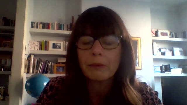 """dr susan hopkins saying the majority of people self-isolate after a positive coronavirus test - """"bbc news"""" stock videos & royalty-free footage"""