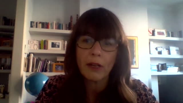 dr susan hopkins saying there have been small amounts of community transmission of the south african coronavirus variant - global communications stock videos & royalty-free footage