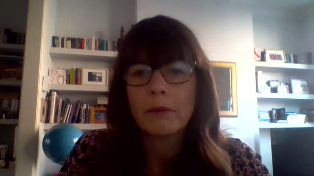 """dr susan hopkins talking about coronavirus lateral flow test data - """"bbc news"""" stock videos & royalty-free footage"""