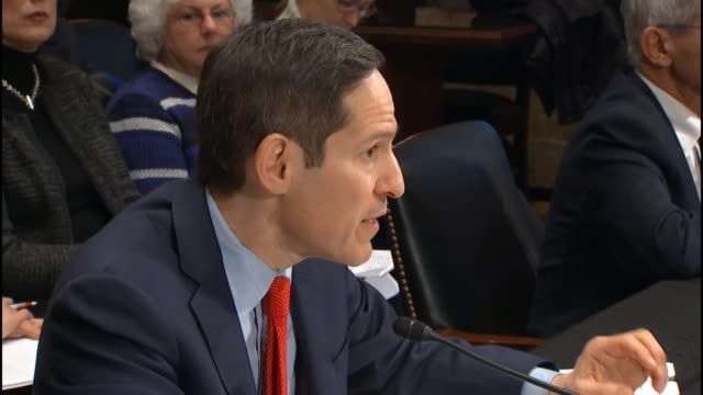 dr thomas frieden director of the centers for disease control describes the nature of zika and efforts by his agency to combat it telling a senate... - bundesgesundheitsamt der usa stock-videos und b-roll-filmmaterial