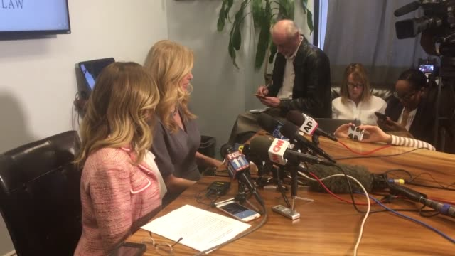Dr Wendy Walsh and her attorney Lisa Bloom held a press conference on claims of sexual harassment by Fox News' Bill O'Reilly