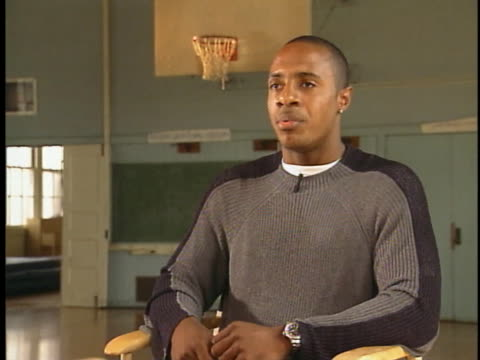 stockvideo's en b-roll-footage met draft pick for the chicago bulls, jay williams, says he is glad he chose a college degree over professional basketball. - sport
