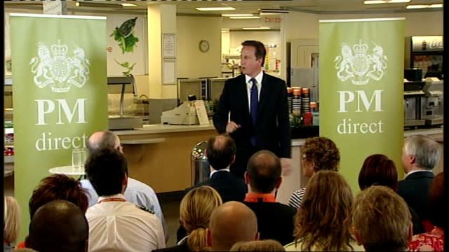 draft proposals for cuts in public spending england bedfordshire luton ext david cameron mp out of car on arrival at luton airport for pm direct... - pms stock videos and b-roll footage