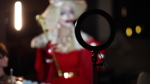 drag queen out of focus - drag queen stock videos and b-roll footage