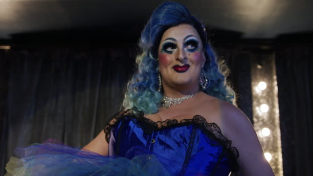 drag queen performer on stage - performance stock videos & royalty-free footage