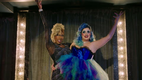 drag queen - singing stock videos & royalty-free footage