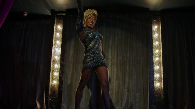 drag queen - rappresentazione video stock e b–roll