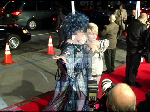 drag queens at the 'miss congeniality 2 armed and fabulous' us premiere at grauman's chinese theatre in hollywood california on march 23 2005 - queens stock-videos und b-roll-filmmaterial