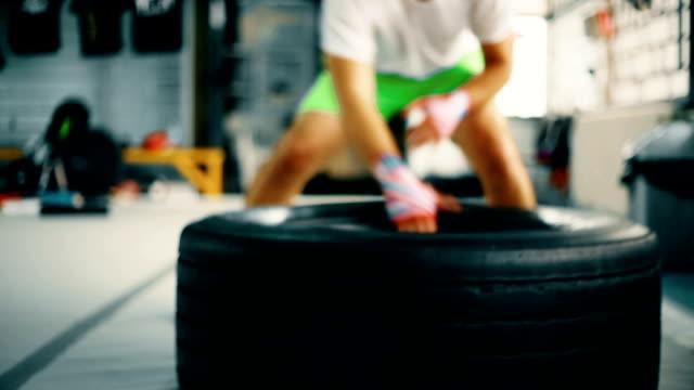 Draging tire
