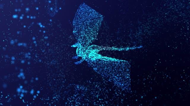 ドラゴン3dモデル背景4k - 竜点の映像素材/bロール