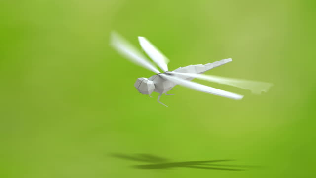 dragonfly folding paper - folding paper stock videos and b-roll footage