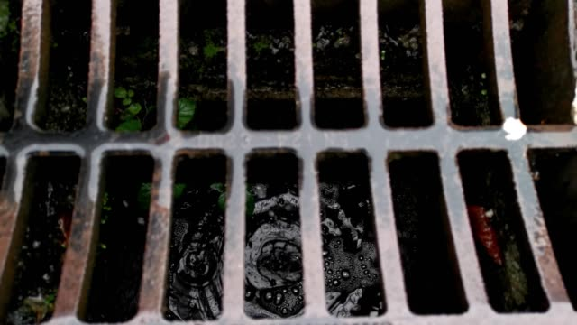 drain, gutter at country roadside - urban road stock videos & royalty-free footage