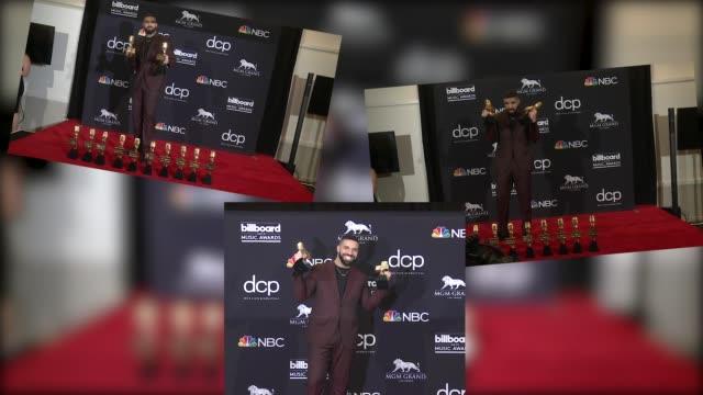 drake at the 2019 billboard music awards - billboard music awards stock videos & royalty-free footage