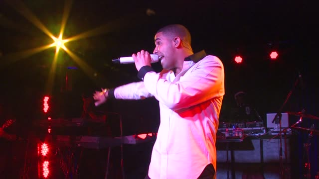 drake at the blackberry torch from att usa launch party at los angeles ca - performance stock videos & royalty-free footage