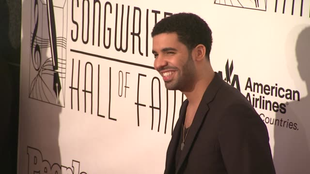 Drake at the Songwriters Hall of Fame 2011 Annual Awards Gala at New York NY