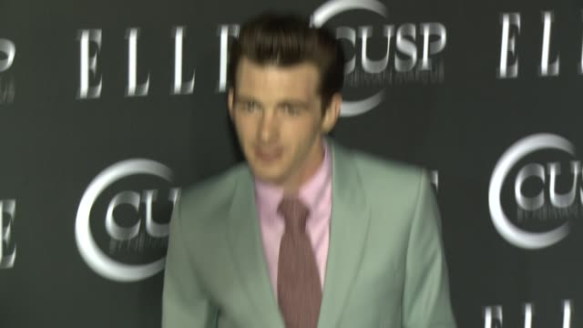 stockvideo's en b-roll-footage met drake bell at 5th annual elle women in music celebration presented by cusp by neiman marcus at avalon on april 22, 2014 in hollywood, california. - neiman marcus