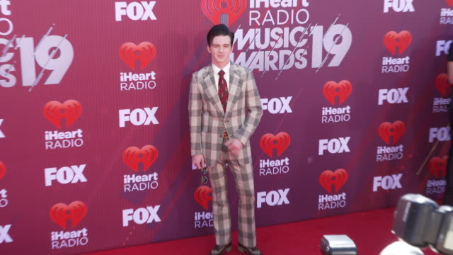 Drake Bell at the 2019 iHeartRadio Music Awards at Microsoft Theater on March 14 2019 in Los Angeles California