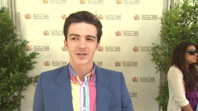 Drake Bell on on today's event on the work EGPAF does and on what he's looking forward to at 23rd Annual 'A Time For Heroes' Celebrity Picnic...