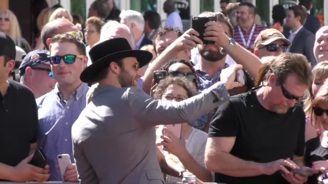 drake white arriving to the 52nd academy of country music awards in celebrity sightings in las vegas - academy of country music awards stock videos & royalty-free footage