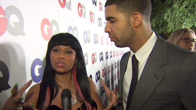 Drake with Nicki Minaj on how it feels to receive the Gangsta Killer honor what makes his music unique being a new artist and releasing his first...