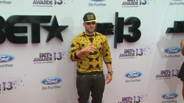 DJ Drama at BET 2013 Awards Arrivals on 6/30/13 in Los Angeles CA