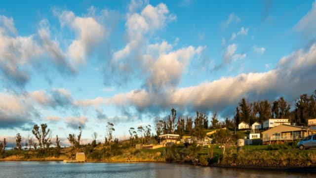 Dramatic Clouds Movement at Boomer Bay
