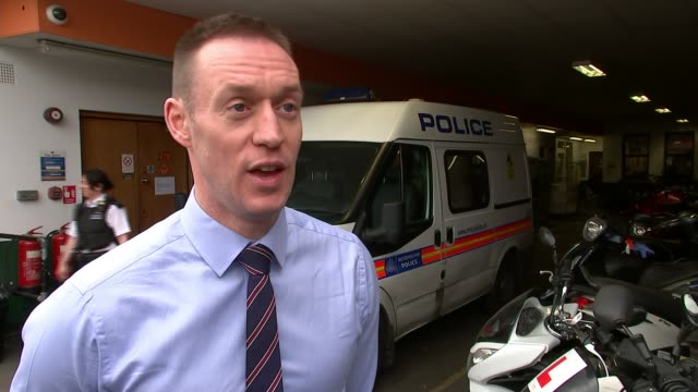 Dramatic footage of police chase that ended with two moped thieves being convicted London EXT Detective Inspector Stuart Smillie interview SOT