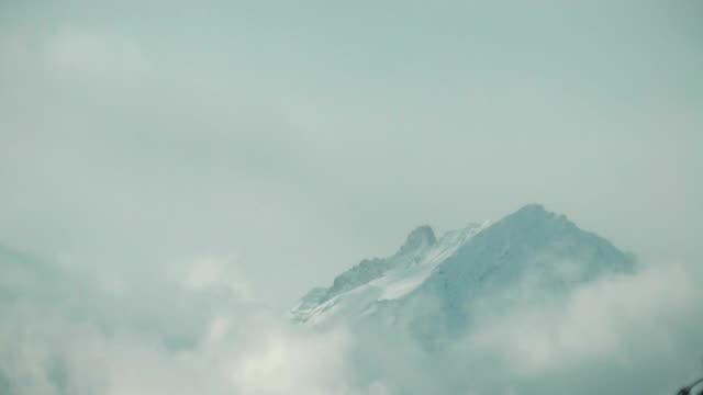 Dramatic mountain time lapse