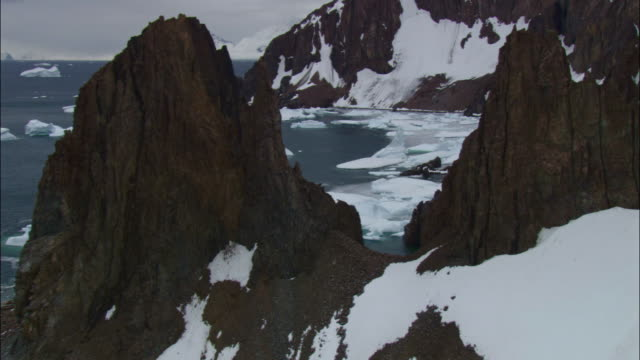 dramatic mountains - antarctica stock videos & royalty-free footage