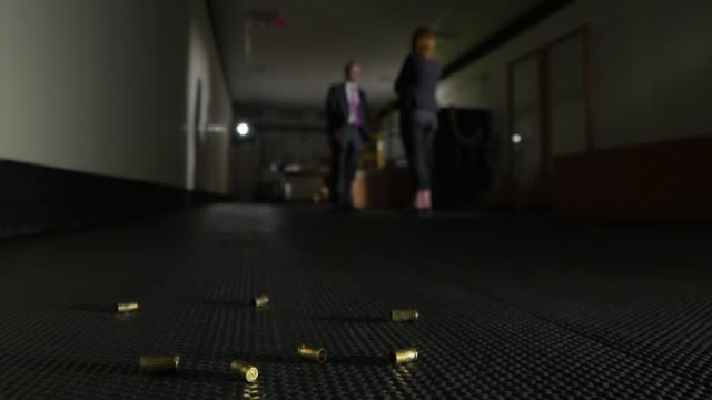 Dramatic rise in gun use across UK revealed by police forensic figures UK West Midlands Guns fired and bullets examined at National Ballistics...