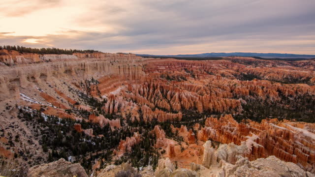 t/l 8k dramatic sky over the bryce canyon - sandy utah stock videos and b-roll footage