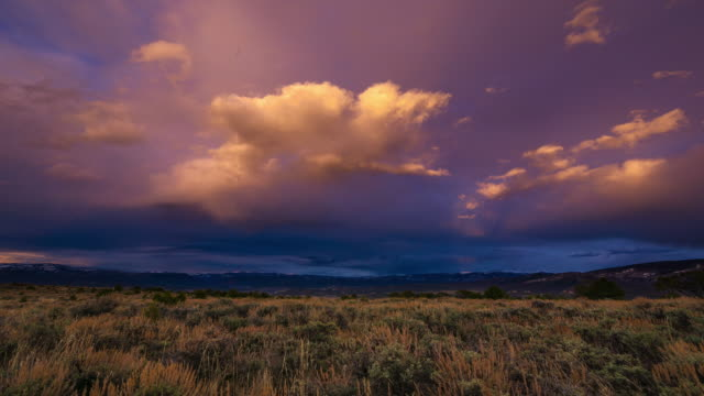 dramatic sunset clouds time lapse - gore stock videos & royalty-free footage