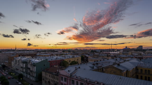 T/L WS HA PAN Dramatic Sunset / Saint Petersburg, Russia