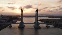 Drawbridge Kuala Terengganu.
