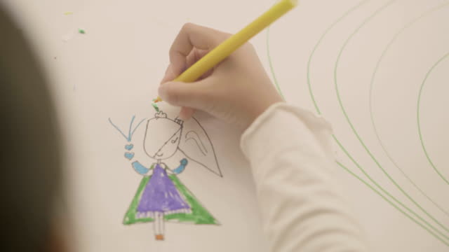 vidéos et rushes de son histoire de dessin - gribouillage