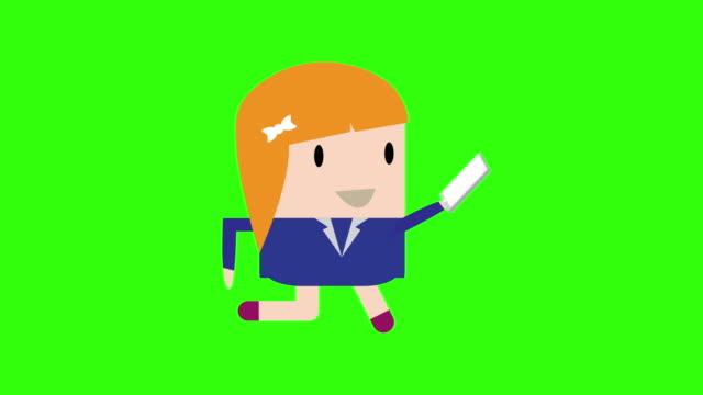 vídeos de stock e filmes b-roll de drawing vector green background with theme of pin - map pin icon