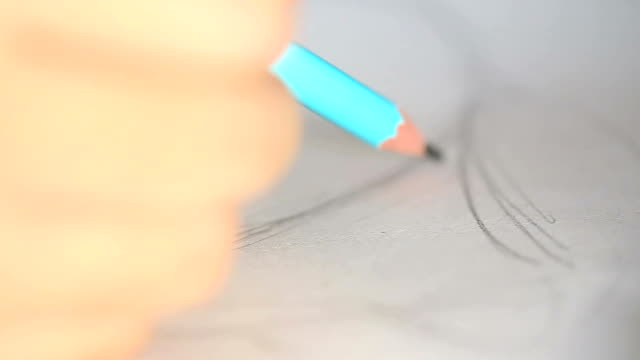 vidéos et rushes de dessin au - métier d'art