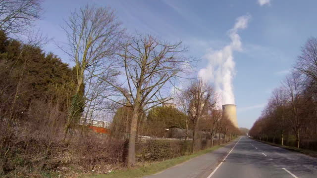 drax electricity generating power station. - power in nature点の映像素材/bロール