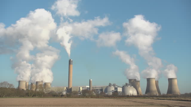 drax power station - condensation stock videos & royalty-free footage