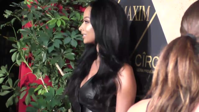 draya michele at the 16th annual maxim hot 100 party at the hollywood palladium at celebrity sightings in los angeles on july 30 2016 in los angeles... - hollywood palladium stock videos & royalty-free footage