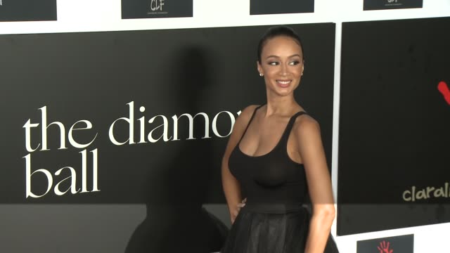 Draya Michele at the 2nd Annual Diamond Ball at Barker Hangar on December 10 2015 in Santa Monica California