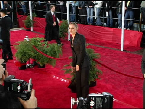 drea de matteo and guest at the 2005 people's choice awards arrivals at the pasadena civic auditorium in pasadena, california on january 10, 2005. - people's choice awards stock videos & royalty-free footage