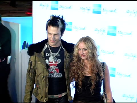 drea de matteo and guest at the american express jam sessions with kid rock at house of blues on sunset boulevard in los angeles, california on... - kid rock stock videos & royalty-free footage