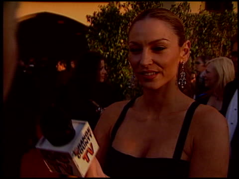 drea de matteo at the 2005 screen actors guild sag awards at the shrine auditorium in los angeles, california on february 5, 2005. - shrine auditorium bildbanksvideor och videomaterial från bakom kulisserna