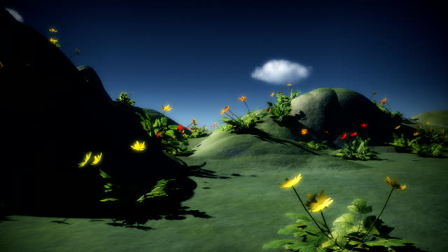 dream garden - flowerbed stock videos & royalty-free footage