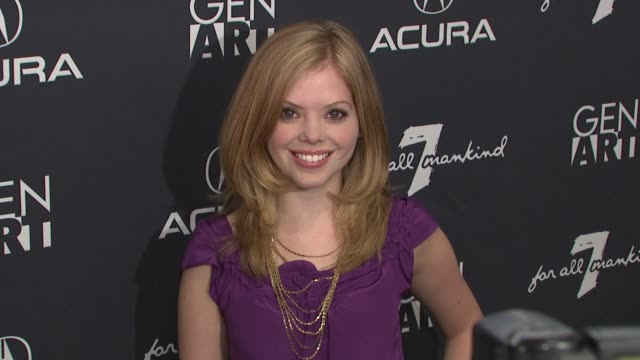 dreama walker at the 14th annual gen art film festival launch party at new york ny. - dreama walker video stock e b–roll