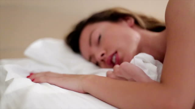 dreaming about him - human sexual behavior stock videos & royalty-free footage